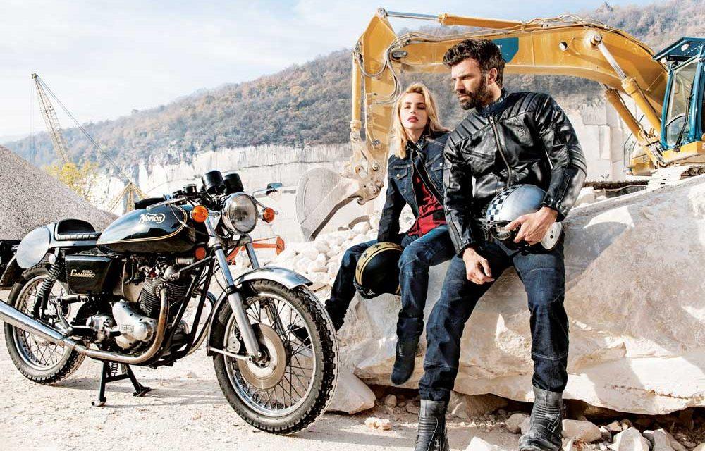 Hevik lanza su chaqueta de cuero Garage para moto