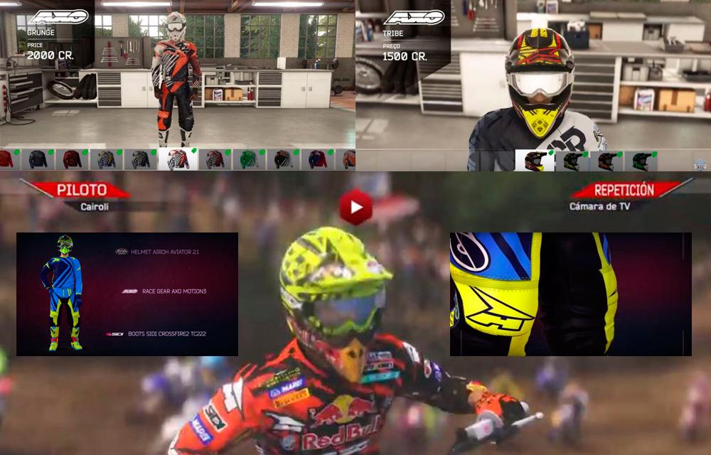 AXO te convierte en el nuevo campeón del mundo de motocross