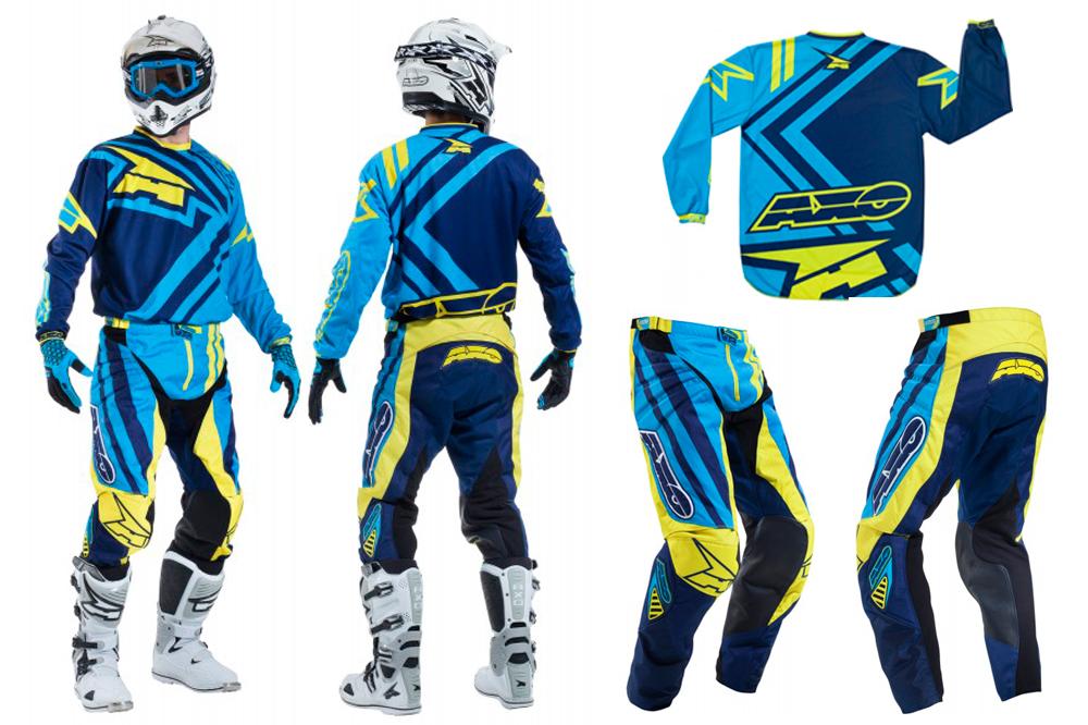 AXO en el nuevo MXGP2 con su traje offroad Motion 3