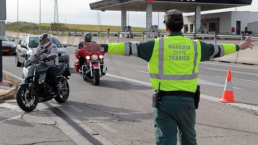 Guardia civil control de alcoholemia