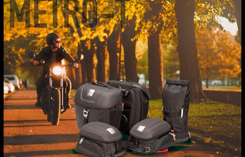 GIVI viste tu Café Racer con las nuevas alforjas y bolsas Metro-T