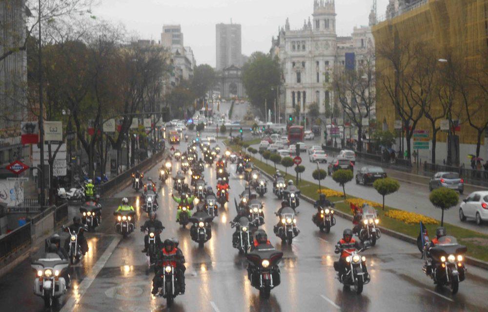 Más de 300 Harleys despiden la XIV Concentración Harley Davidson KM0