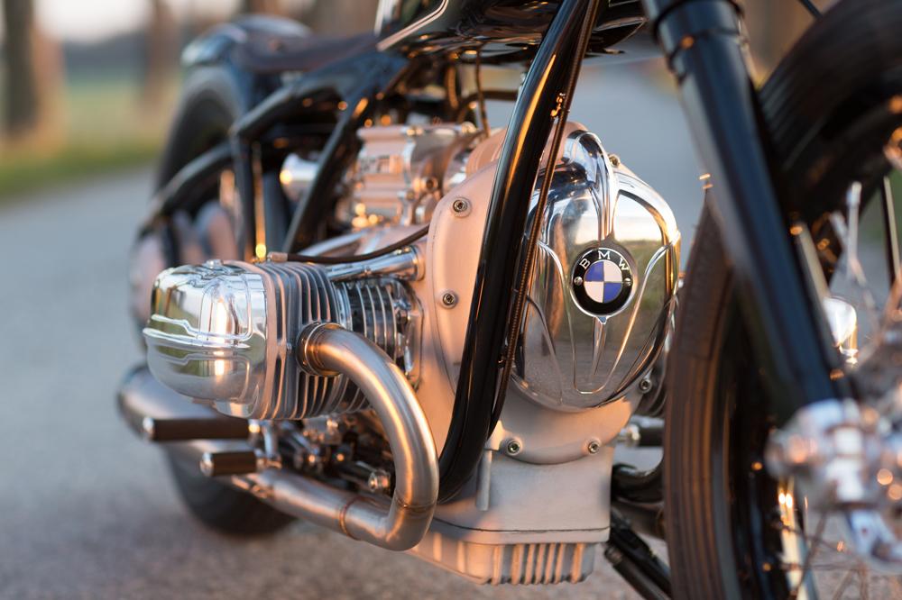 Motor de la BMW- R5 Hommage