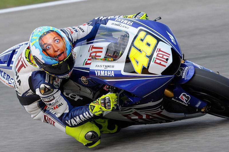 Casco Rossi GP Italia 2008