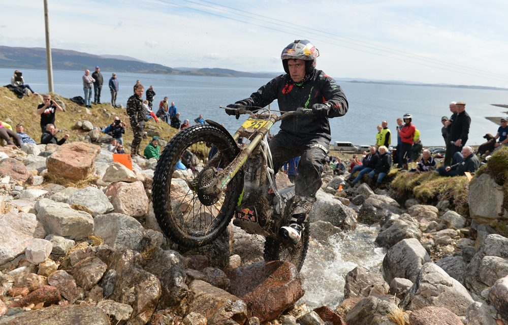 Dougie Lampkin, récord de victorias en los Seis Dias de Escocia de Trial