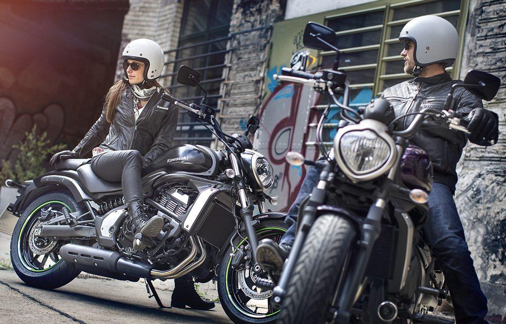 Pruebas de conducción Kawasaki para mujeres en Madrid