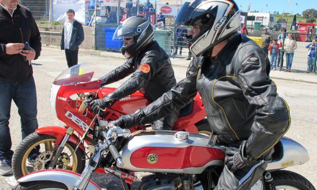 Racer Explosion, fiesta cafe racer en Circuito del Jarama