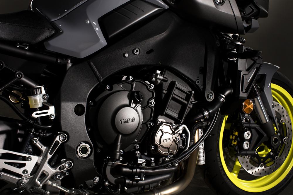 Motor de la Yamaha MT 10