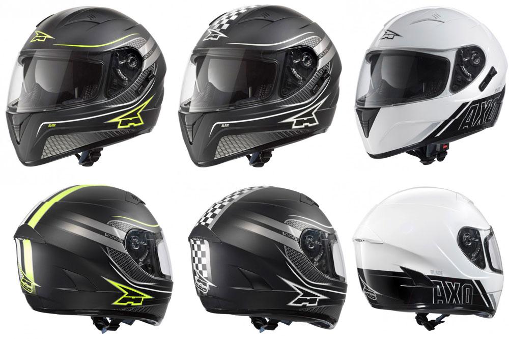 Modelos disponibles del casco integral Blade de AXO