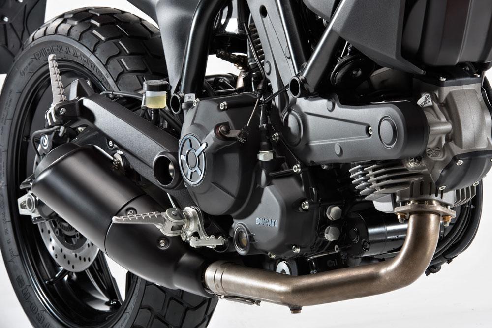 Motor de la Ducati Srambler Sixty2