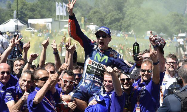 Jorge Lorenzo vuelve a Yamaha