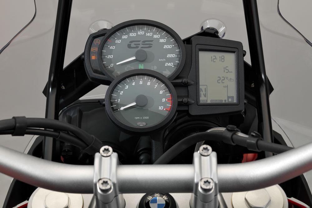 Cuadro de Instrumentos de la BMW F 800 GS 2017