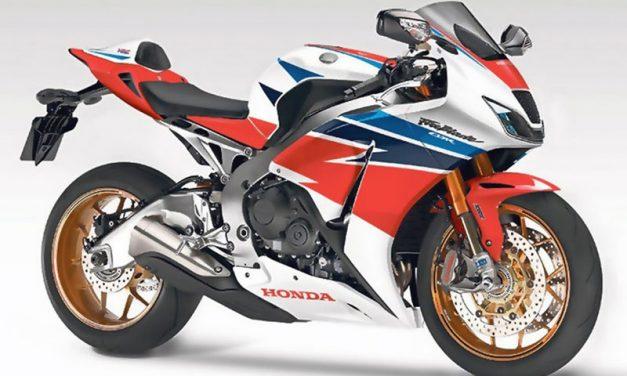 Honda CBR 1000 RR. Así podría ser