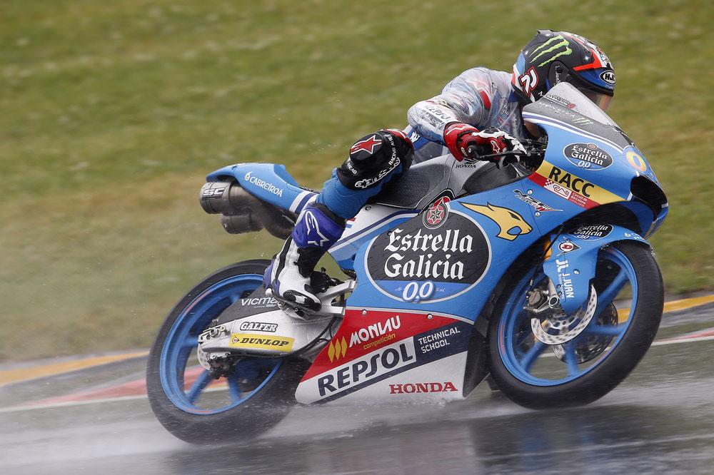 Jorge Navarro, durante el GP de Alemania
