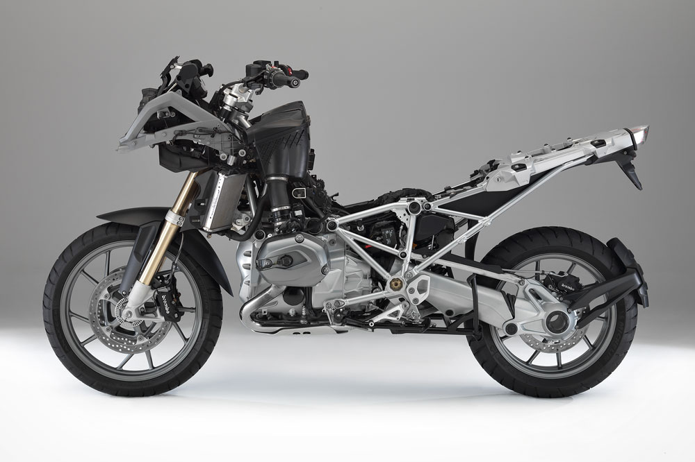BMW R 1200 GS, chasis