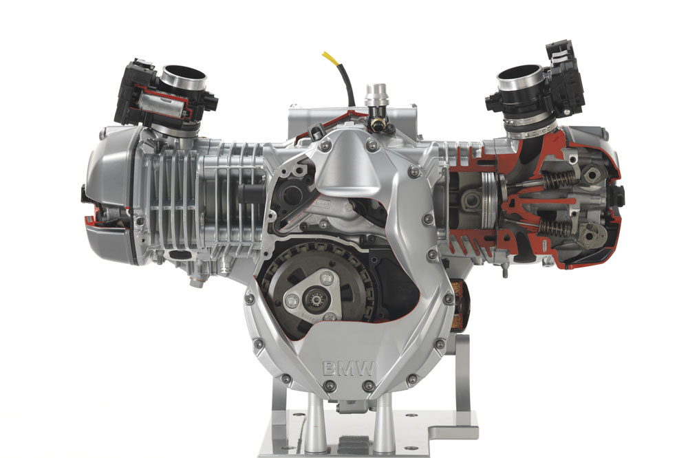 BMW R 1200 GS, motor