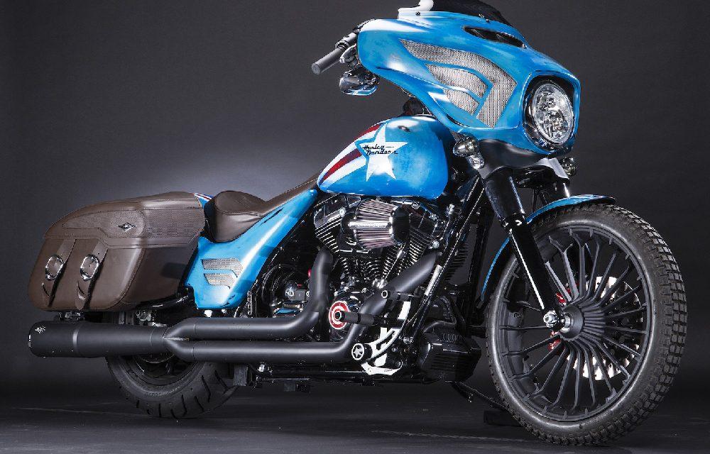 Harley Davidson y los superhéroes de Marvel