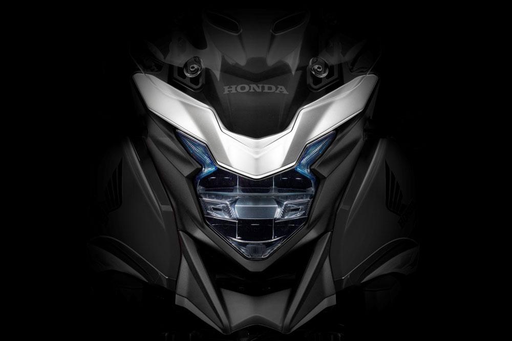 Faro delantero de la Honda CB 500 X
