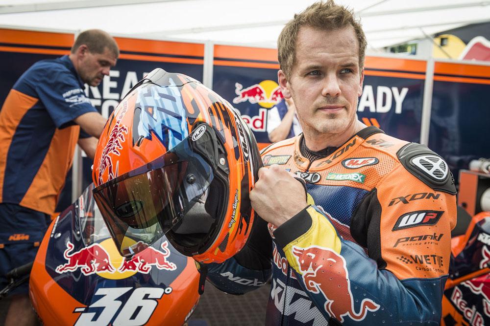 Mika Kallio será el piloto de la KTM RC16 MotoGP