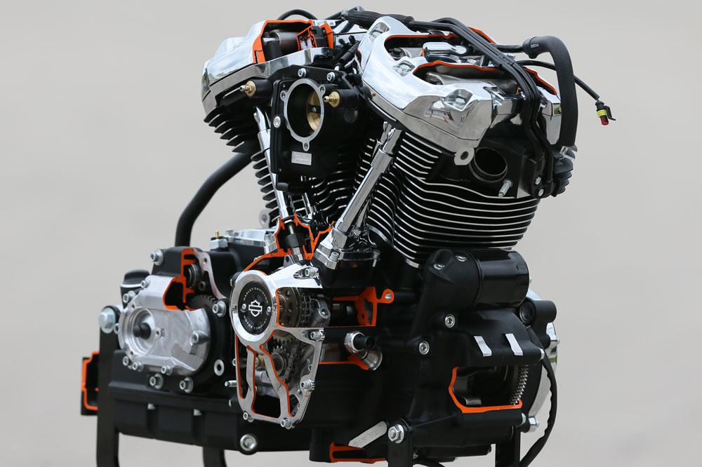 Nuevos motores Harley Davidson 2017