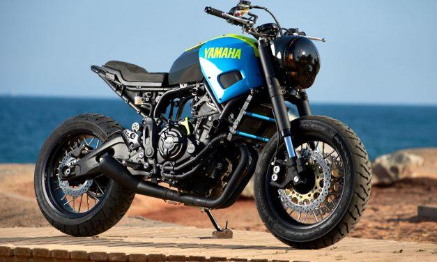 Yamaha XSR 700 Otomake de Ad Hoc Cafe Racers
