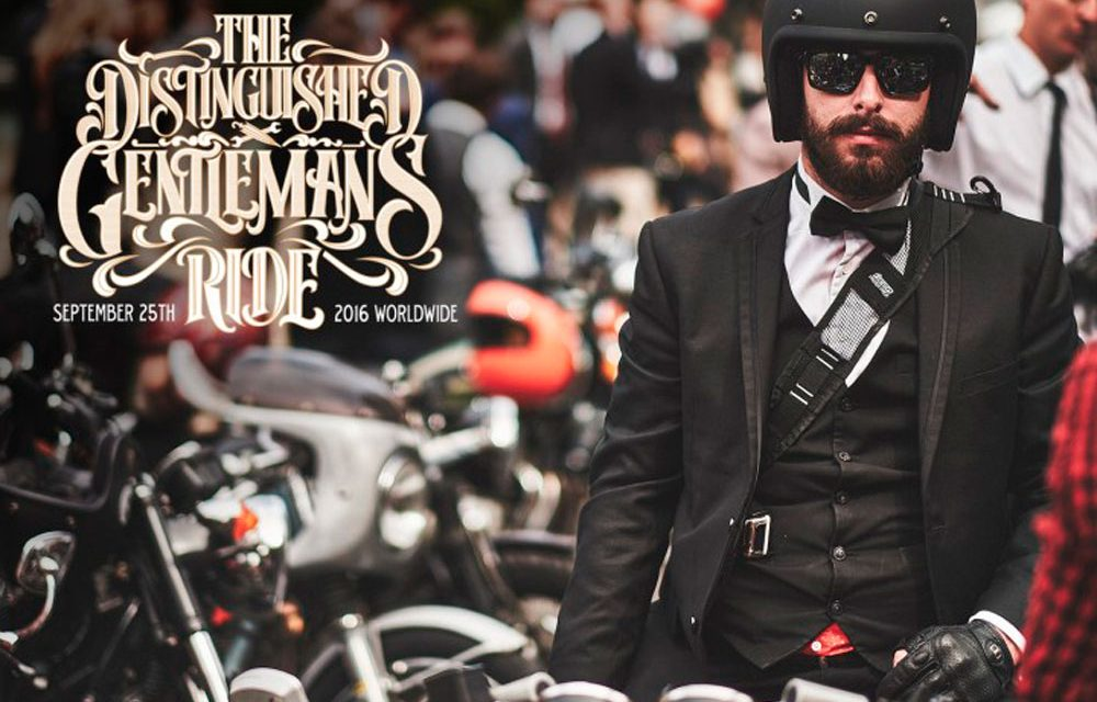 Quinta edición del Distinguished Gentleman's Ride 2016