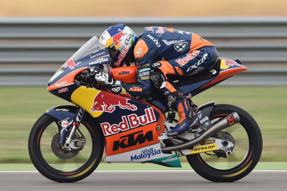 Brad Binder Campeón del Mundo de Moto3