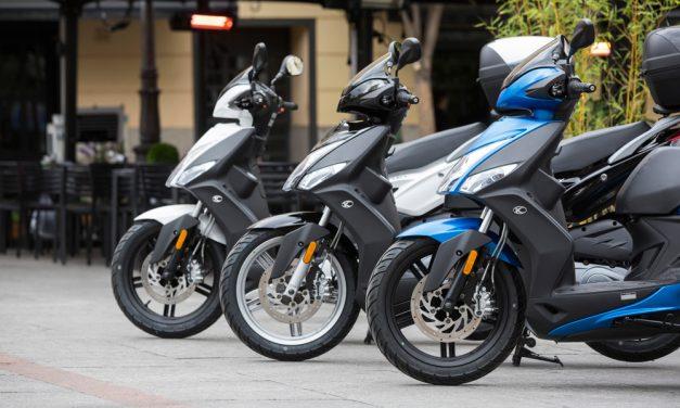 Motos y scooter pierden en Valencia las medidas para el fomento de su uso