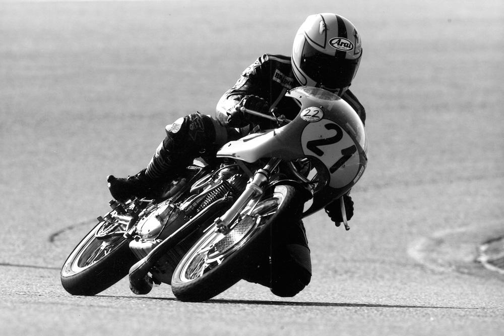 Juan Martín Ducati 450 Sport