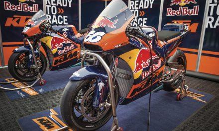 KTM prepara su MotoGP y lo explica en vídeo