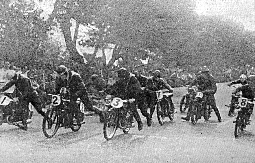 1946, II Gran Premio de Motociclismo en Madrid