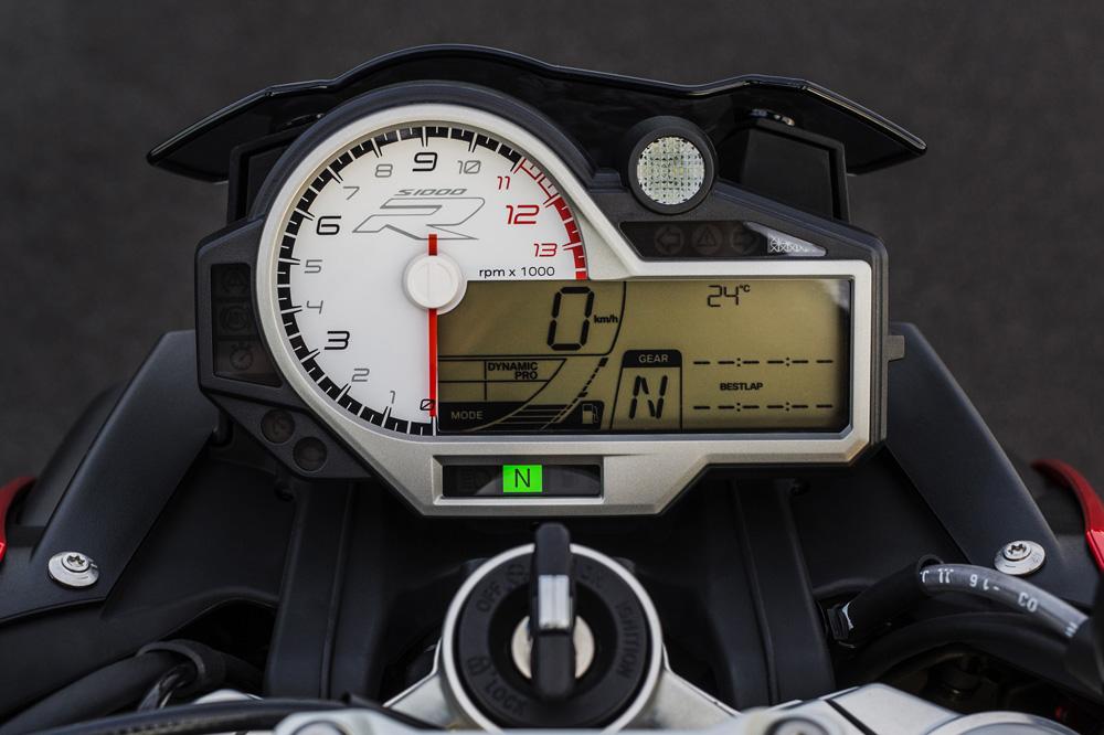 Cuadro de Instrumentos de la BMW S 1000 R