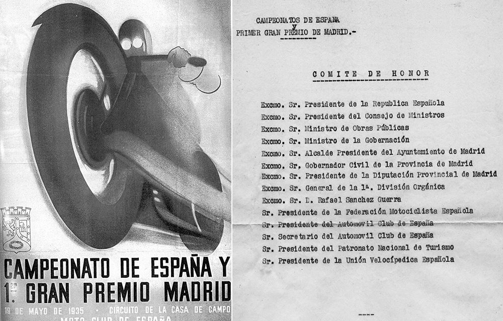 1935, Primer Gran Premio Internacional de Madrid