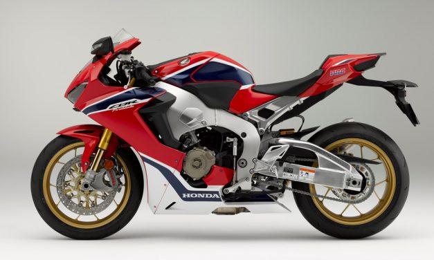 Honda CBR 1000 RR Fireblade 2017 SP