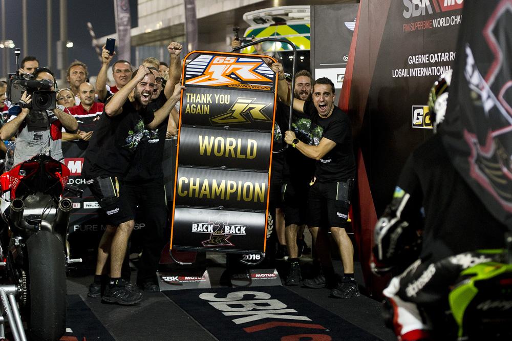Kawasaki KRT Team en el Mundial SBK