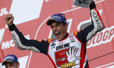 Marc Márquez, campeón del mundo de MotoGP 2016
