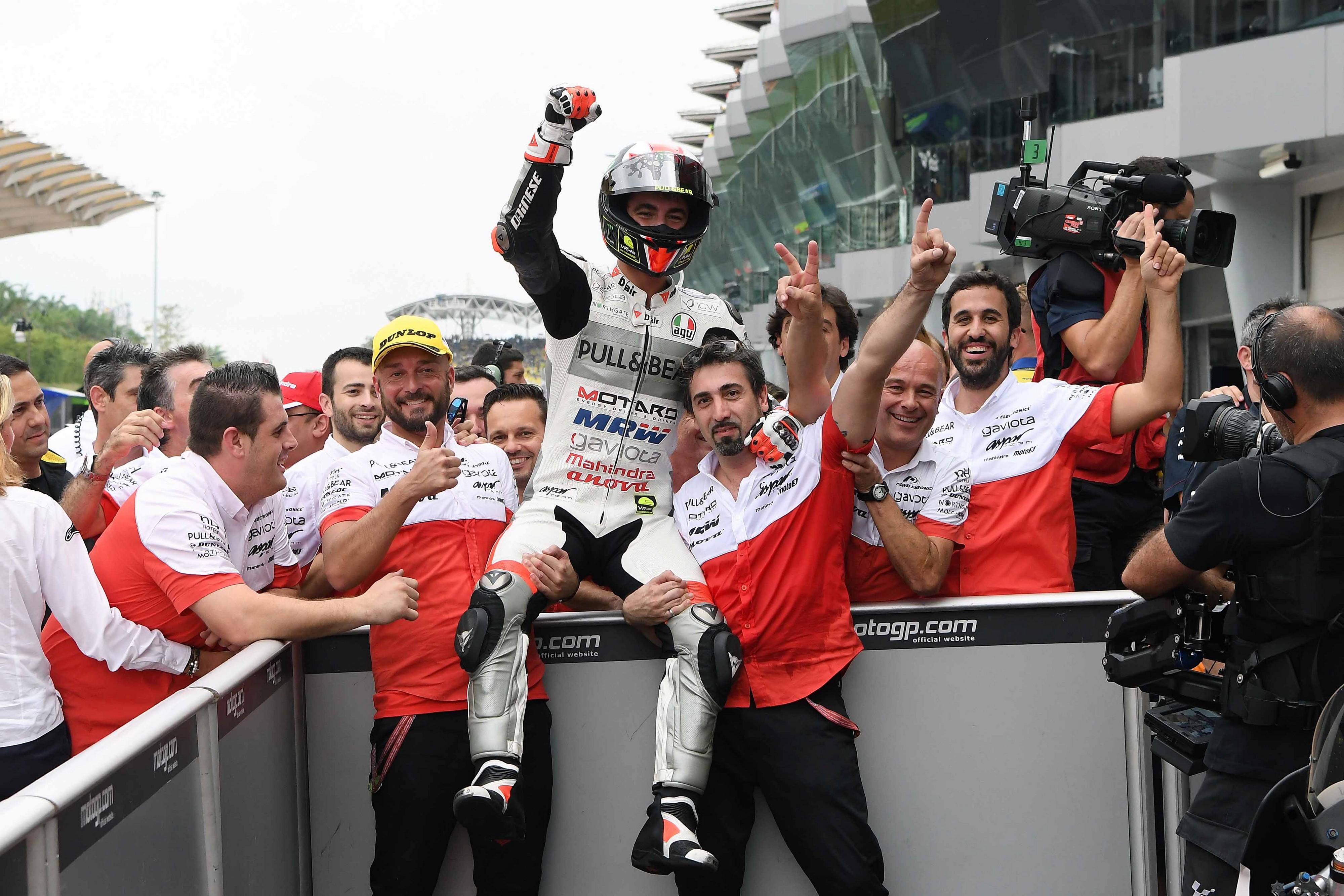 Victoria de Pecco Bagnaia en el GP de Malasia Moto3