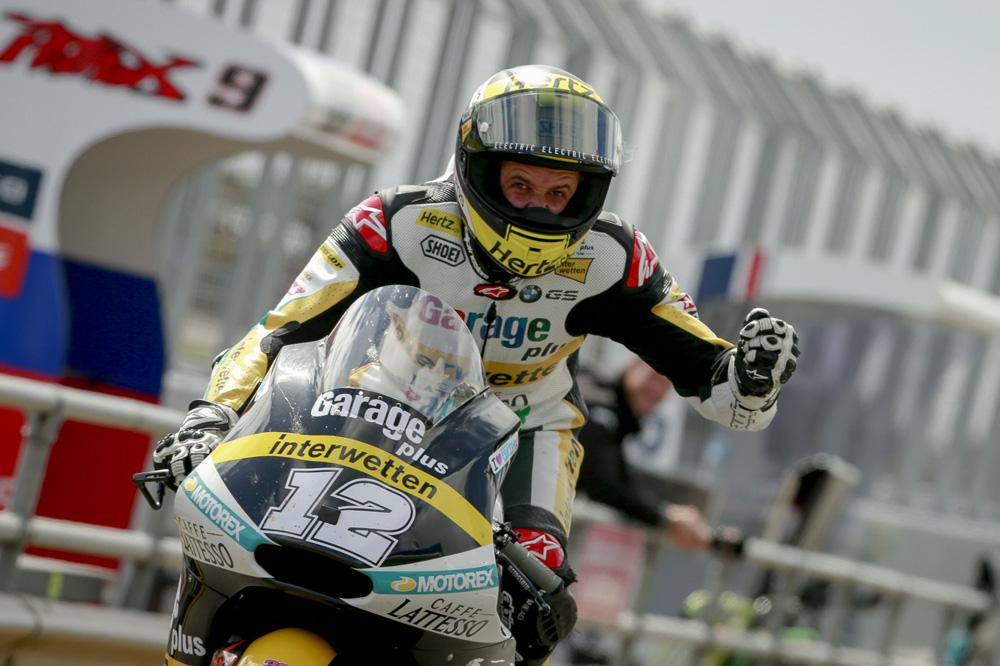 Victoria de Thomas Luthi en Moto2 en el GP de Australia