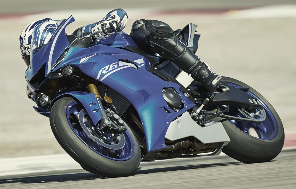 Yamaha YZF R6 2017: Supersport 600