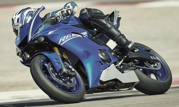 Yamaha YZF R6 2017: Supersport 600