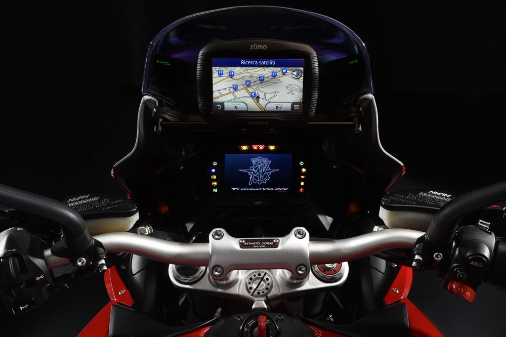 MV Agusta Turismo Veloce RC, navegador