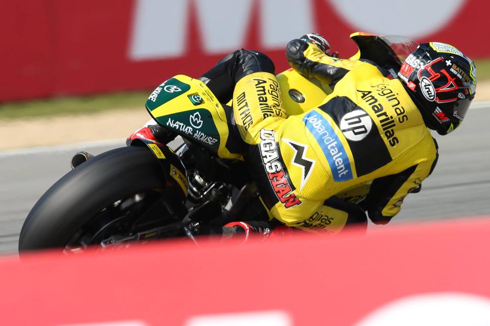 Alex Rins antes del GP de Valencia