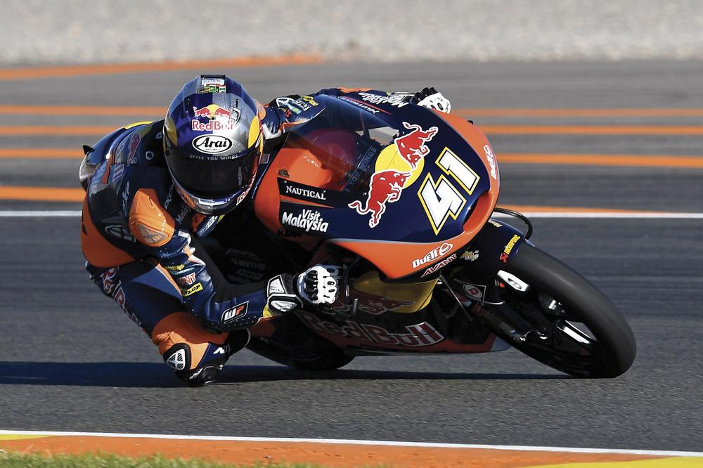 Victoria de Brad Binder en el GP de Valencia