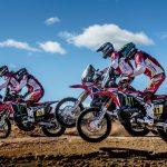 Honda presenta sus equipos para el Dakar 2017