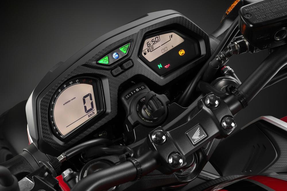 Cuadro de Instrumentos de la Honda CB 650 F