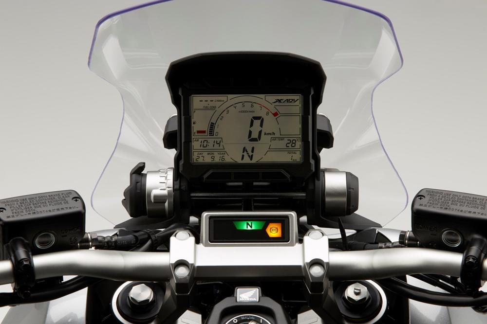Cuadro de instrumentos del Honda X ADV