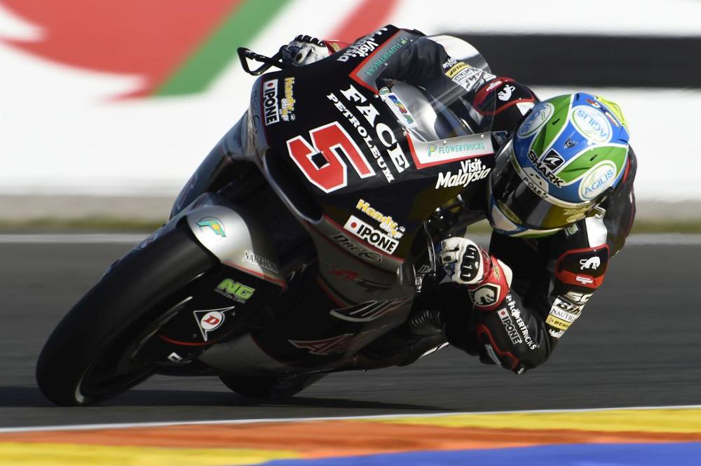 Victoria de Johann Zarco en el GP de Valencia