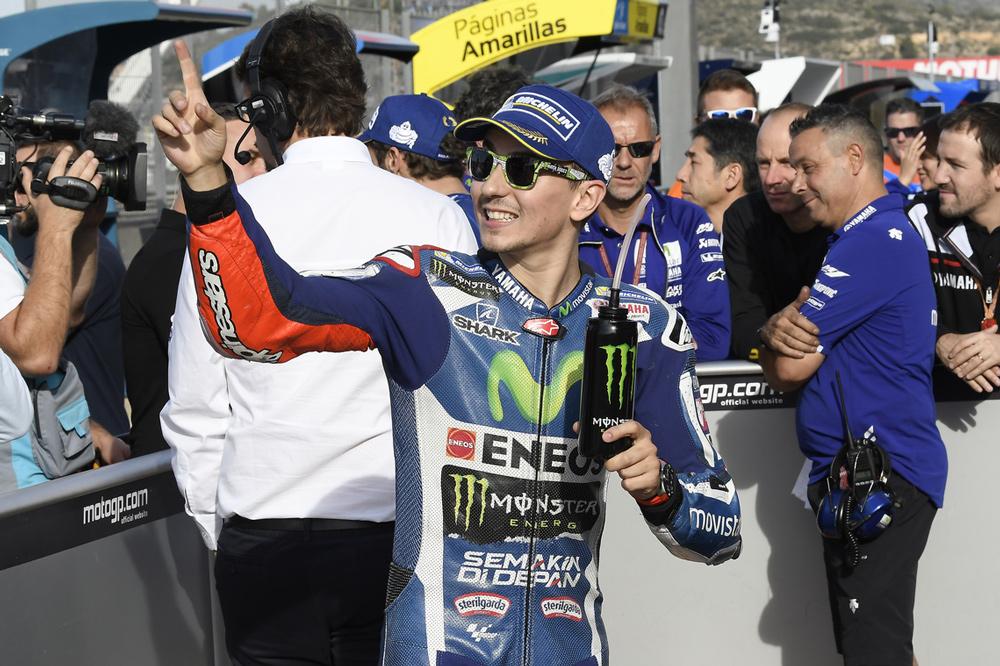 Jorge Lorenzo se despide de Yamaha con victoria en MotoGP
