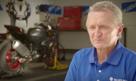 Kevin Schwantz prueba la Suzuki GSX-R 1000 2017