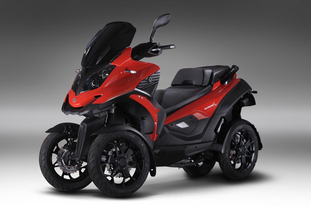 Cuatro 4, Scooter de cuatro ruedas